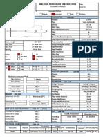 Welding Procedure Specification - Template
