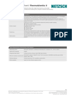 Data Sheet Thermokinetics3