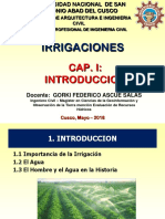 IRRIG1. Introduccion