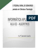 Aula 02 -Algoritmos