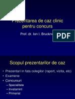 Ion Bruckner - Prezentarea de Caz