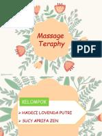 Massage Teraphy