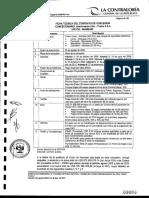 Ficha Técnica de Contrato de Concesión