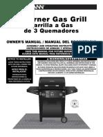 Brinkman Gas Grill Manual