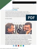 De Calabria Al Plata El Presidente Maurizio Macrì... Página12