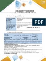 Guia de Actividades y Rùbrica de Evaluaciòn - Fase 2 - Revisar Enfoques Teòricos de La Antropologìa Psicològica