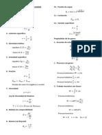 Formulario de Mecánica de Fluidos