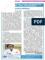 El Dr. Zorrilla habla sobre las hemorroides en DSalamanca