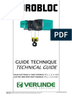Technical Guide Electric Wire Rope Hoist EUROBLOC VT