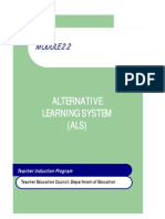 Module 2.2 Alternative Learning System