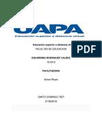 TAREA I Educacion Para La Universidad