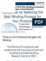 Guidelines for Selecting the Best Winding Process