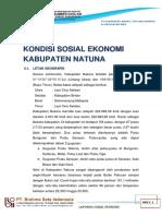 Data Sosial Ekonomi Kabupaten Natuna