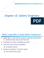 Chapter 12 SafetyInventory