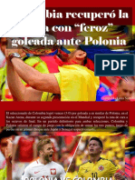 "Leopoldo Lares Sultán - Colombia Recuperó La Ruta Con ""Feroz"" Goleada Ante Polonia"
