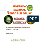 Organografía Vegetal
