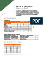 Abep - Critério Brasil [2008]