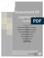 29952180 Assessment of Learning 2