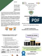 Folleto Rendicion de Cuentas Fin de Ciclo 2018