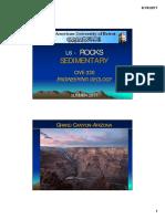 L6 Rocks Sedimentary (III)