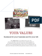 coaching values
