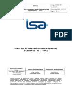 DPRO-GHSQE-M01-Especificaciones_HSE_Tipo_A_V01