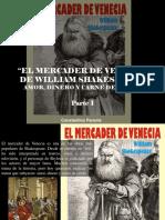 Constantino Parente - El Mercader de Venecia, De William Shakespeare, Amor, Dinero y Carne de Cerdo, Parte I