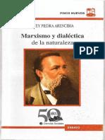 Marxismo y Dialéctica de La Naturaleza - Rogney Piedra Arencibia