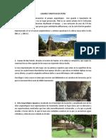 Lugares Turisticos de Peten