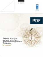 Buenas Prácticas Para Un Modelo de Gobernanza Económica Territorial