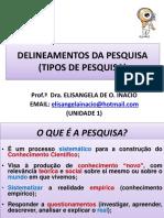 Texto 3- Tipos de Pesquisa - Inicial (Unidade 1)