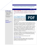 PM2-5 Steps to Balanced Scorecard-2004