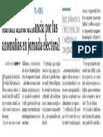 04-07-18 Adrián alista denuncia por las  anomalías en jornada electoral
