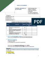 Formato Del Banco de Preguntas de PSDS601