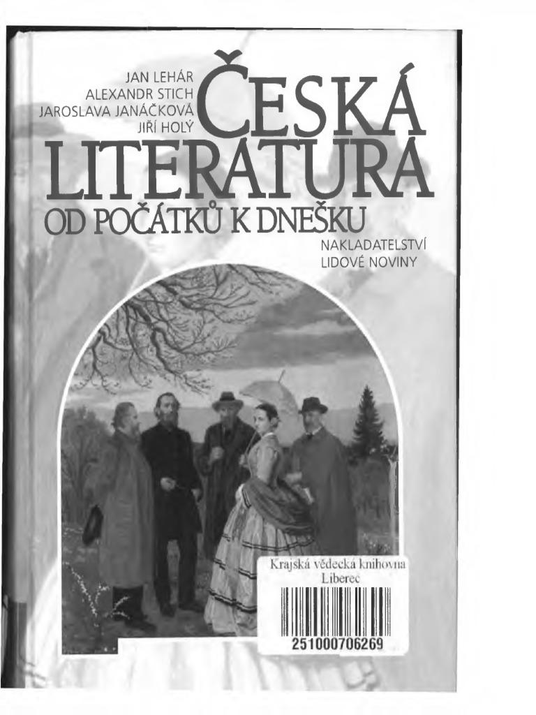 Česká Literatura Od Počátků k Dnešku 585bac9be2