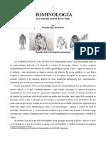 Hominología Esa Extraña Ciencia de Los Yetis- Fjsr