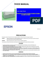 EPSON CX3500 - 3650-3600-4500-4600 - Service Manual
