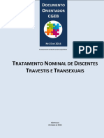 Doc Orientador Cgeb 15 Tratamento Nominal de Discentes Travestis e Transexuais 1
