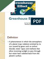 Greenhuse Effect