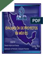Evaluacion de Proyectos en Mexico