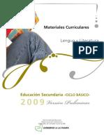 Mce Mc2009 Lengua y Literatura 123vpreliminar