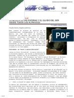 Peter Sloterdijk La Musica de Las Esfera