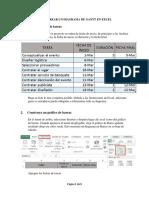 Cómo Crear Un Diagrama de Gantt en Excel