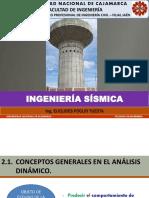 2.1. Conceptos Generales en El Analisis Dinamico (Ingenieria Sismica Unc 2018-i)