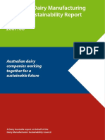 Australian Dairy Industry Sustainability Report