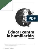 GENTILI_Educar Contra La Humillación