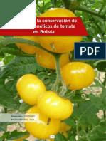 Conservacion de RRGG de Tomate