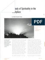 Spirituality in the Workplace-Mitroff Denton