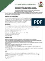 Niger Delta Development Commission Tel_2348059020663