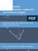 supplemental and corresponding angles